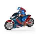 Super Moto de Fricção Avengers - Capitão América - Toyng