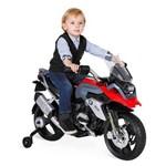 Super Moto Elétrica Esportiva Bmw Gs Vermelha Bandeirante