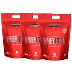 Super Whey 100% Refil (3 Unidades) - Integralmédica