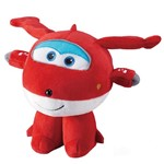 Super Wings Pelúcia Pequena Jett - Intek