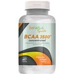 Suplemento Concentrado P/ Atletas BCAA 3500 - 60 Cápsulas - Benattus