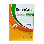 Suplemento Mineral para Gatos RenaCats 50g - Bioctal