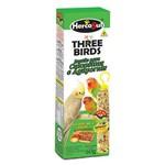 Suplemento para Pássaros Three Birds em Bastão para Calopsitas - 60g