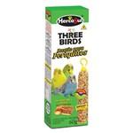 Suplemento para Pássaros Three Birds em Bastão para Periquitos - 60g