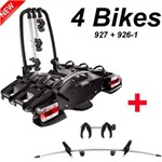 Suporte 4 Bicicletas Thule Velocompact 927 + Bola de Engate