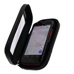 Suporte Capa Celular Moto Bike Prova D'água Impermeável Smartphone Tela 5.5 Tomate