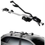 Suporte de Teto para 1 Bicicleta com Limitador de Torque Thule Proride 598 Prata