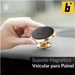 Suporte Magnético Veicular 360º Small para Painel - Dourado
