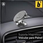 Suporte Magnético Veicular 360º Small para Painel - Prateado
