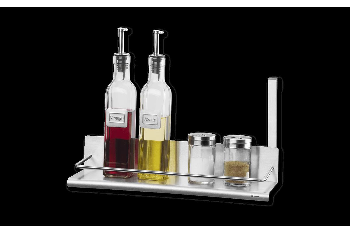 Suporte para Condimentos - Spazio 35 X 10 X 17,8 Cm