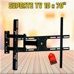 """Suporte Parede Tri-Articulado P/ Tv / Televisão Lcd Led 4k Brasforma SBRP1440 10 a 70"""""""