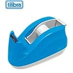 Suporte Plástico para Fita Adesiva 12x30mm Tilibra Azul