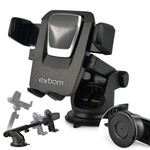 Suporte Veicular Universal para Smartphone/GPS/Iphone Trava Automatica EXBOM-SP-72