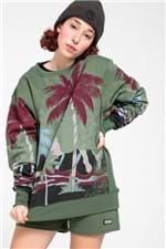 Sweatshirt Palm Tree Military-P