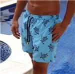 Swim Short Tartarugas Azul