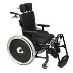 (t)cadeira Rodas Avd Alu Pernas Elevadas 44 Preta