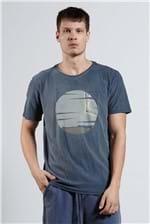 T-shirt Across Sunset Azul P