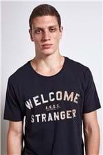 T-shirt Anss Stranger Preto M