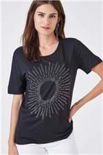 T-Shirt Apolonias Preto - P