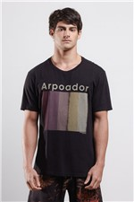 T-shirt Arpoador Sunset Preto G