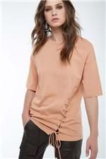 T-Shirt Atada Lateral Bronze - P