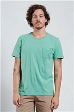 T-shirt Blend com Bolso Verde G