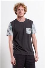 T-shirt Block Tracks Greay Unica G