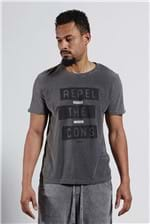 T-shirt Botone Repel The Cons Preto P