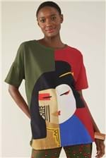 T-shirt Cantão Local Babel - Multicolorido