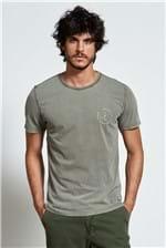 T-shirt Carimbo Music Verde P