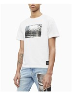 T-Shirt Ckj Masc M/C Andy Warhol Rodeo - Branco - P