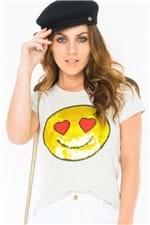T-shirt com Emoji BL3390 - Kam Bess