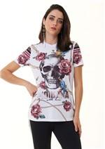 T-Shirt com Estampa Diferenciada
