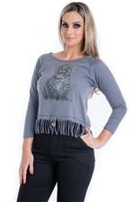 T-shirt com Franjinha
