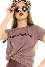 T-shirt com Lettering Print BL4120 - Kam Bess