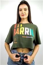 T-shirt Cropped Barril Farm - P