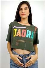 T-shirt Cropped Daora Farm - P