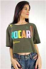 T-shirt Cropped Pocar Farm - P