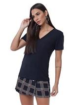 T-Shirt de Malha Basic