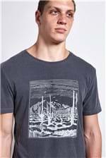 T-shirt Desert Preto P
