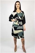 T-shirt Dress com Faixa Maria Valentina - M