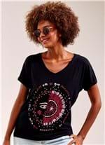 T-Shirt Eclipse PRETO G