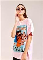 T-Shirt Empire ROSA CLARO G