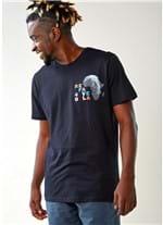 T-shirt Especial Silk Refavela40 Preto G