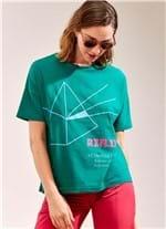 T-Shirt Etimologia Reflexo VERDE G