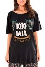 T-shirt Farm Ioio Iaia - Preto
