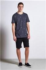 T-shirt Fins Preto G