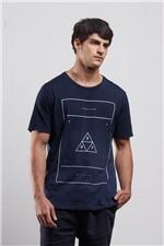 T-shirt Frame Marinho Gg