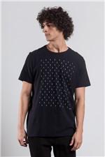 T-shirt Geo Line Preto G