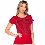 T-Shirt Heart M